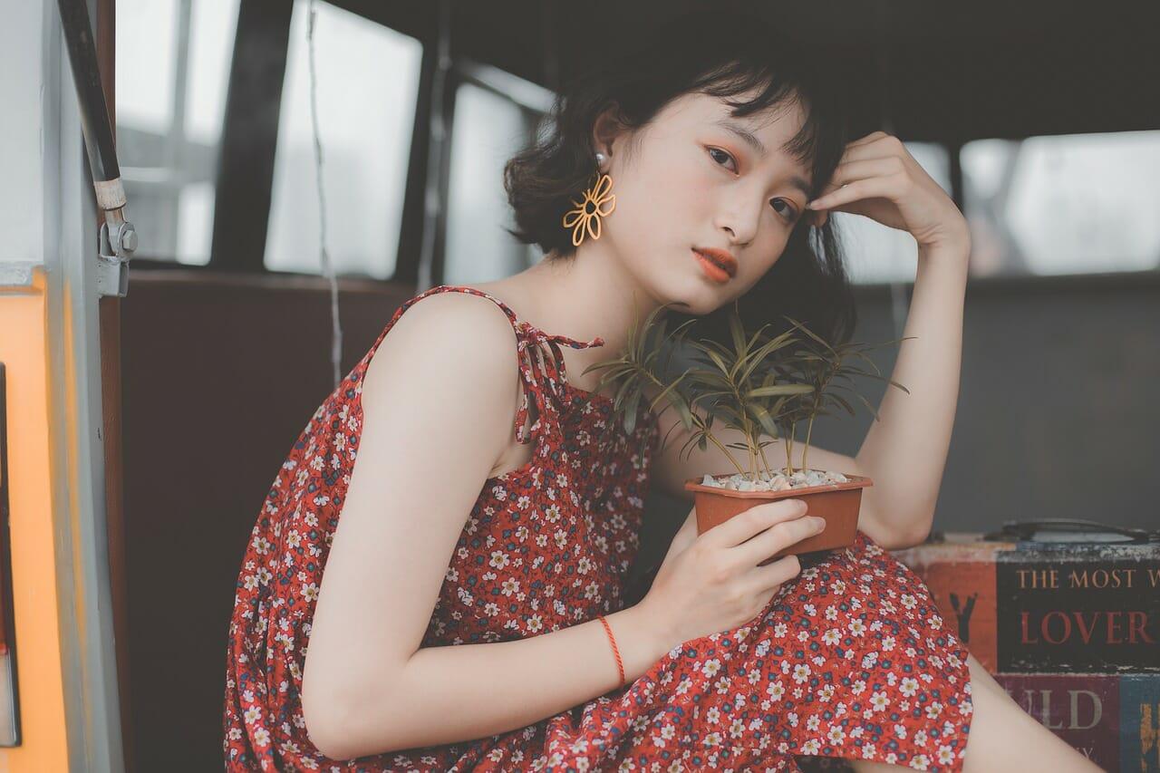 Asian girl model