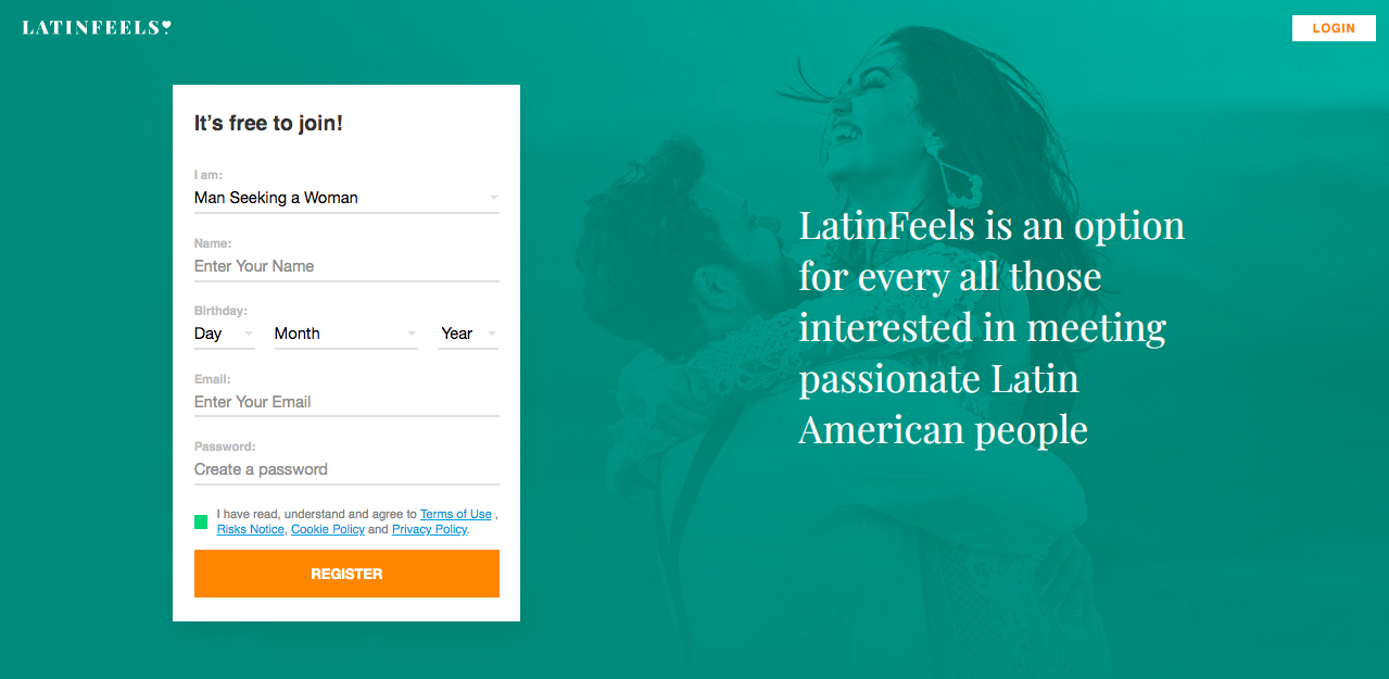 main page LatinFeels.com
